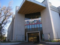 The Mormon Genealogy Library in Salt Lake City