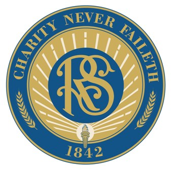 The Relief Society's official seal