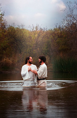 Reflections of christ baptism