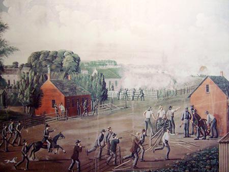 Conflict in Nauvoo.